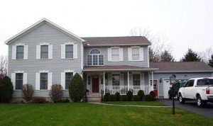 beautiful home representing New York Sash home improvement services in Central New York