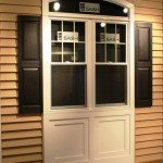 Double Hung Windows with Grids