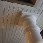 Beaded Soffit and Columns