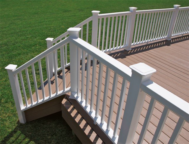 Composite Decking and Composite Railing System