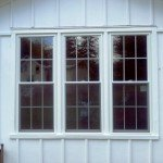 Customer Double Hung WIndows with Grids
