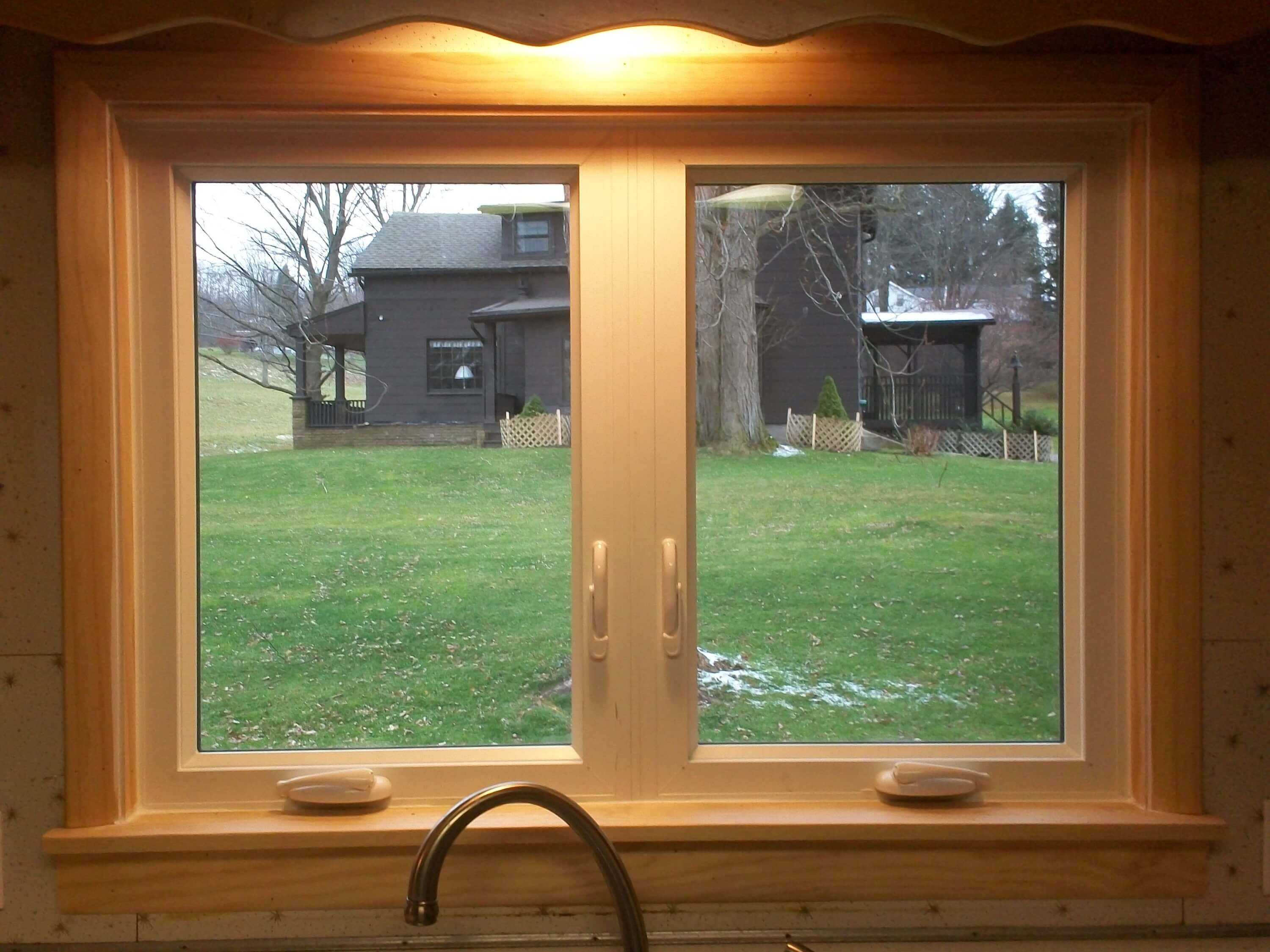 Install casement windows in hard to reach places for Installing casement windows