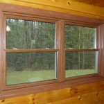 Log Cabin Windows - Double Hung