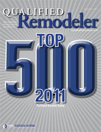 Top 500 Remodelers for 2011