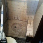 Before - Walk-in Shower