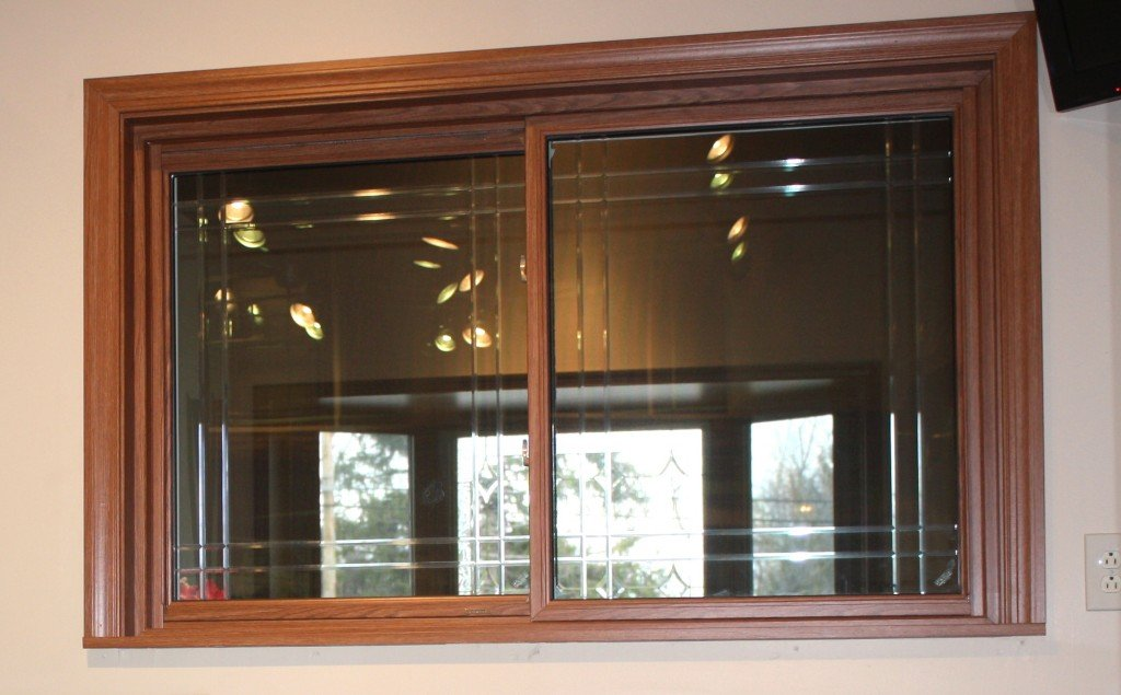 Slider Window in Showroom
