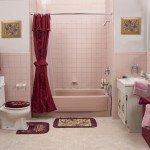 Before - Pink Bath