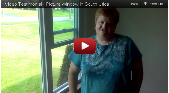 Video Testimonial – Picture Window in Utica