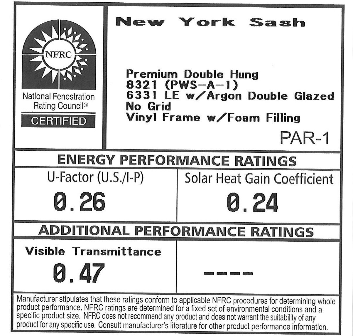 Read the Ratings – Make sure you understand what kind of replacement windows you're getting