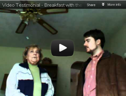 [Video Testimonial] Breakfast with the Installers