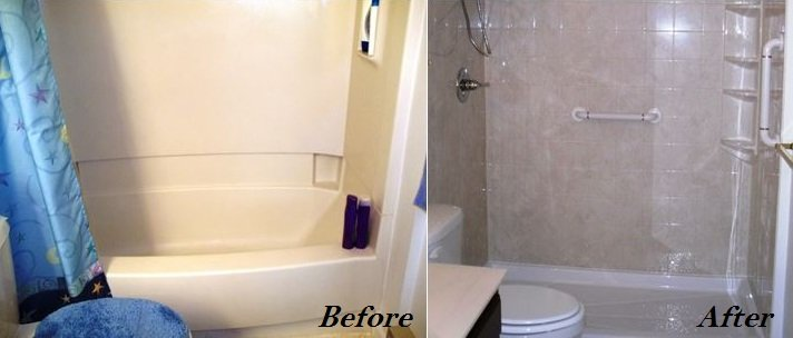 Tubtoshower Conversions Installed By New York Sash - Bathroom remodel changing tub to shower
