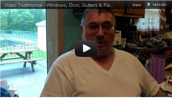[Video Testimonial] – Windows, Doors, Gutters and Rail in New Hartford