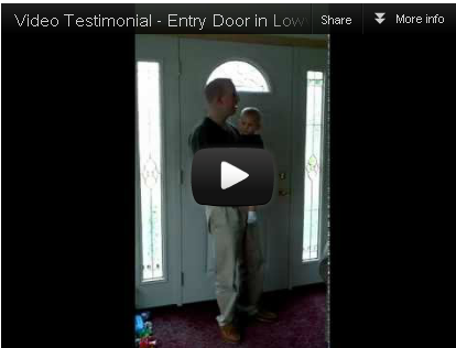 [Video Testimonial] Entry Door in Lowville, NY