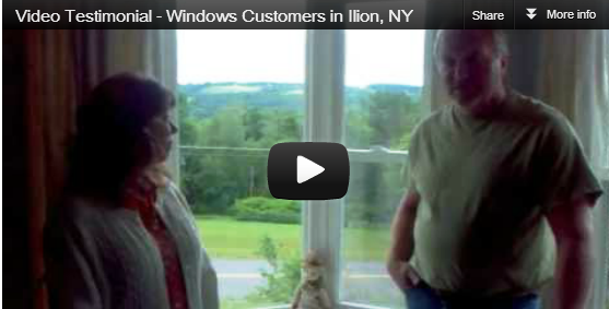 [Video Testimonial] Window, Door and Siding Customers in Ilion