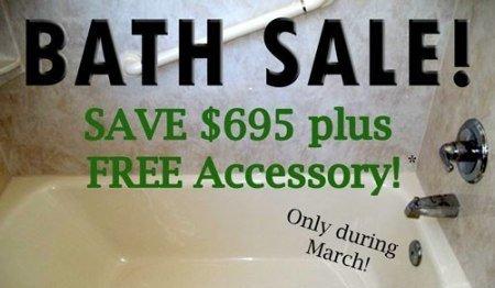 March Bath Sale