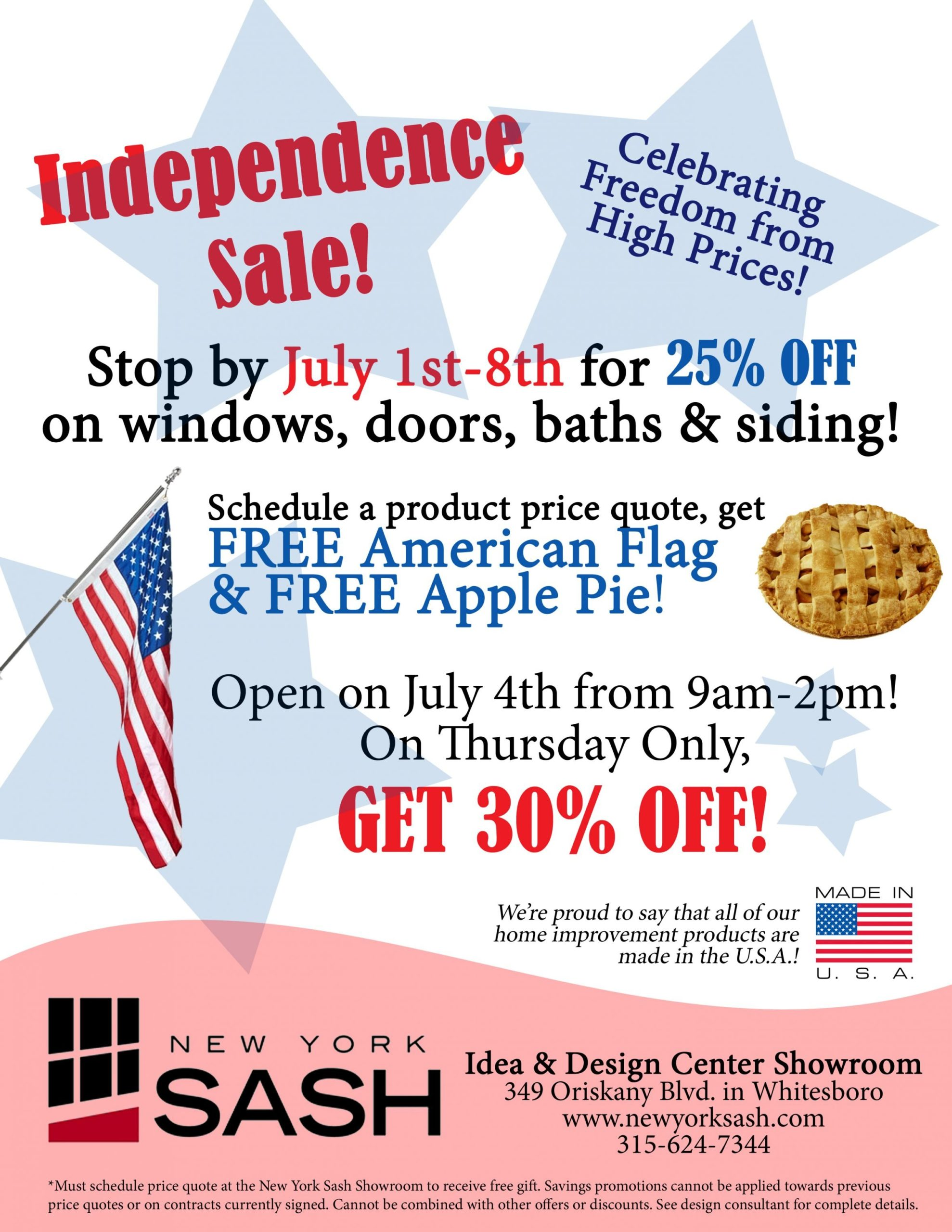 Independence Sale!