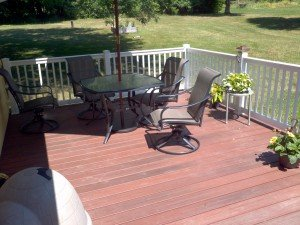 Customer composite deck