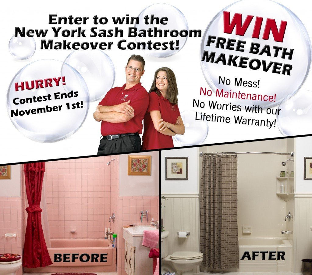 Win Bathroom Makeover: Bathroom Makeover Contest