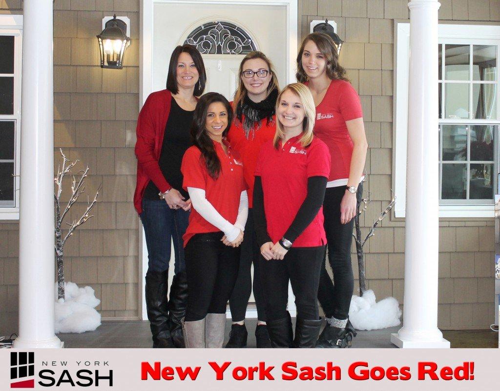 New york sash goes red for New york sash bathrooms