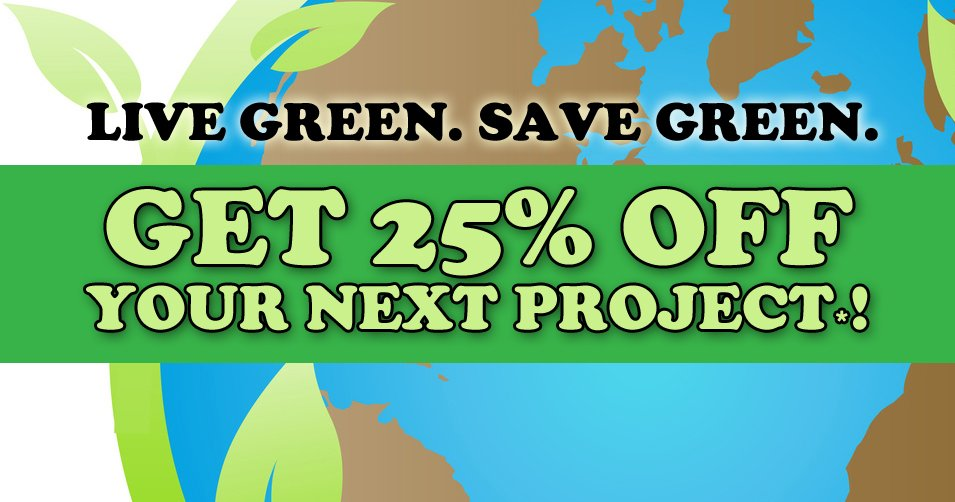 Live Green & Save Green This Earth Day