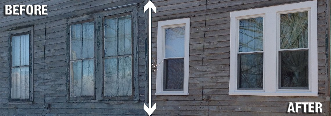 Don't Cover Your Windows with Plastic This Winter – Get Vinyl Replacement Windows