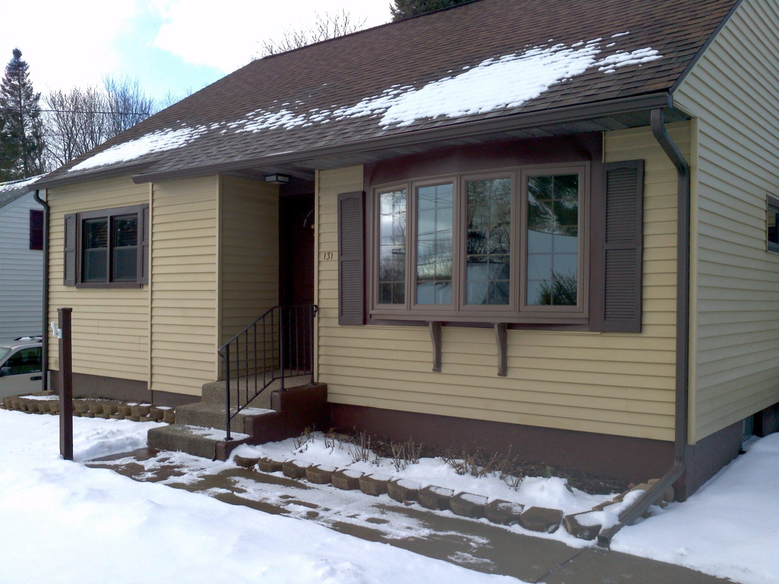 Protect Your Home This Winter with Vinyl Replacement Windows or Energy Efficient Entry Door