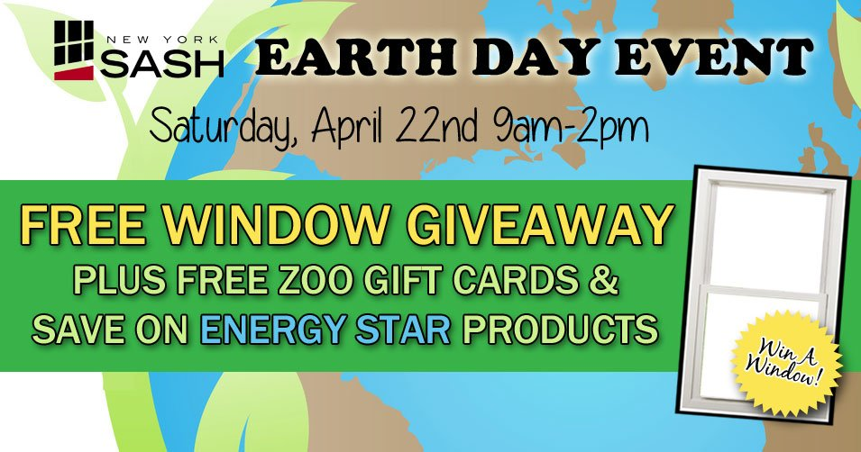 Earth Day Event and Window Giveaway
