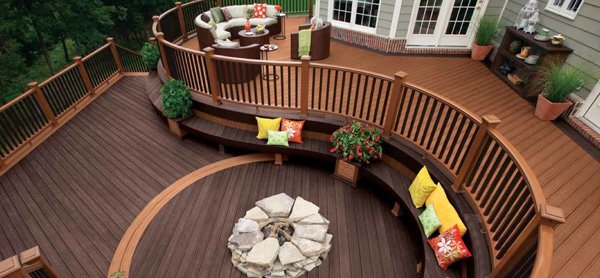 Look & Feel of Real Wood Without the Hassle: Trex Composite Decking