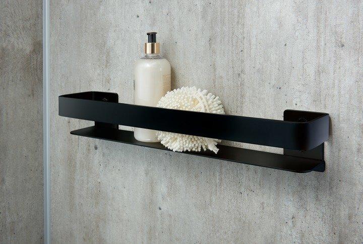 20 Inch Matte Black Shelf
