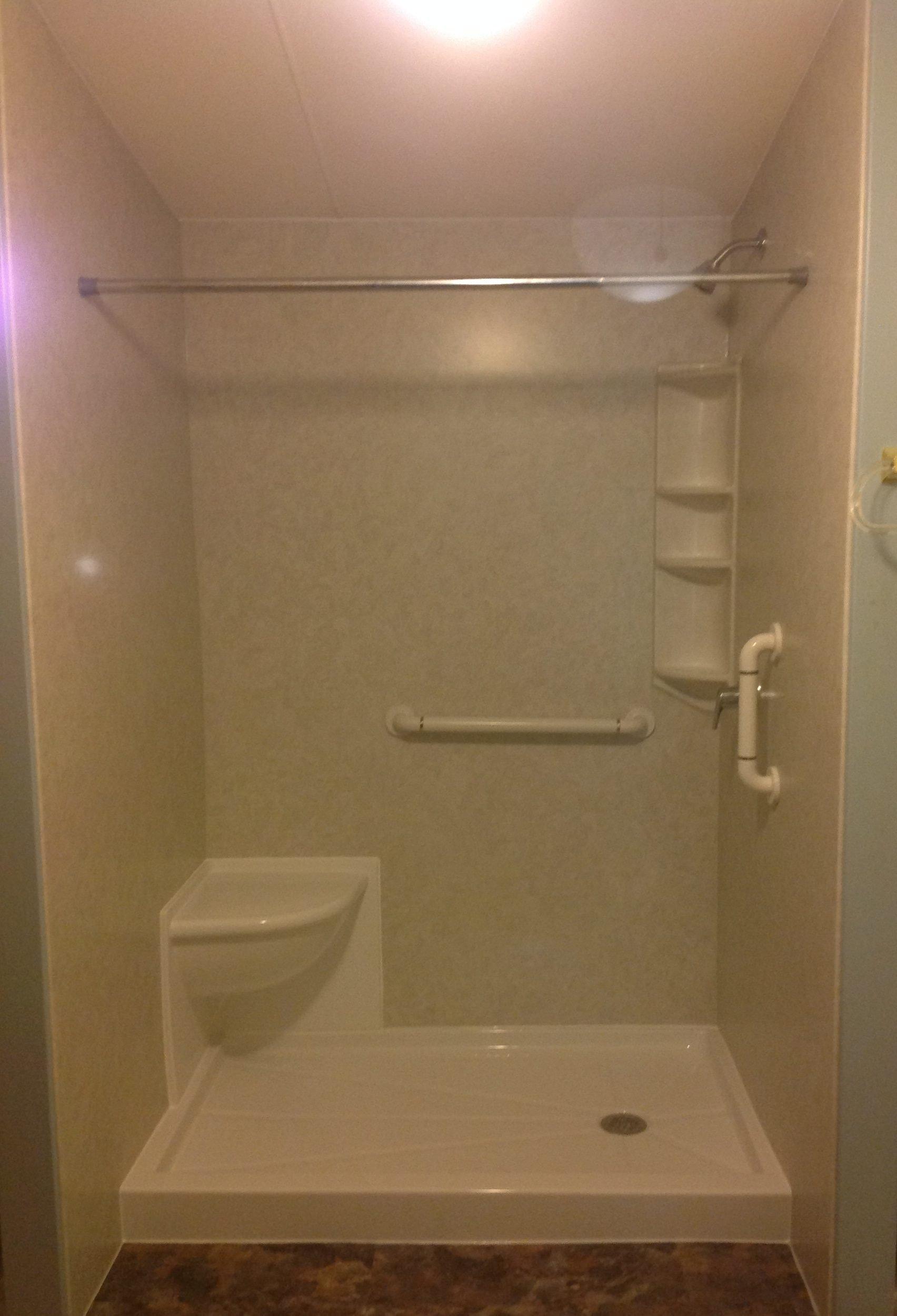 Tub To Shower Conversion New York Sash