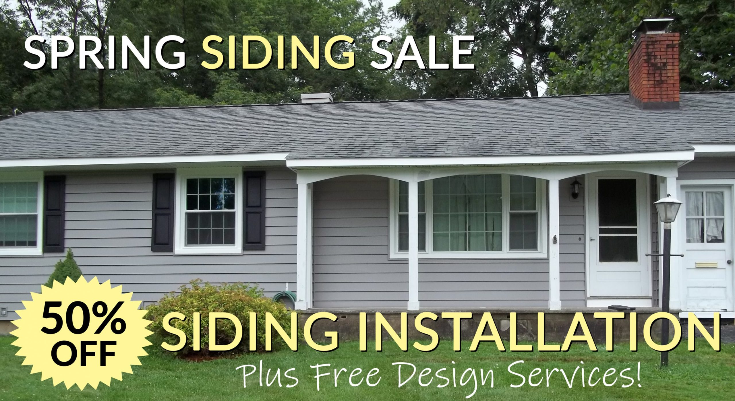Spring Siding Sale New York Sash